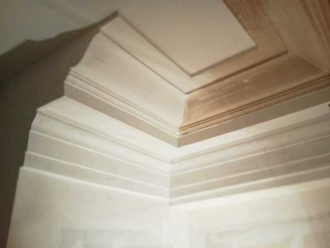 Ornamental Plaster Repair | Left Shore Construction